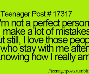 teenager post, mistakes, and perfect image