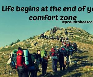 life, mountain, and quotes image