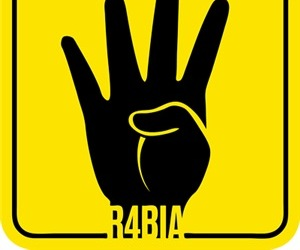 egypt, symbol, and r4bia image