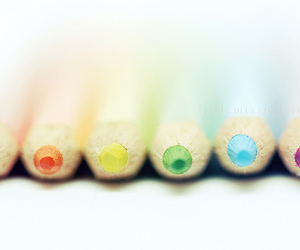 colored pencils, watercolor pencils, and colors image