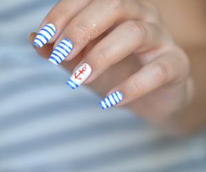 nails, vernis, and nailarts image