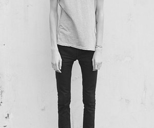 boy, skinny, and thin image