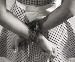 bondage, clothes, and tied up image