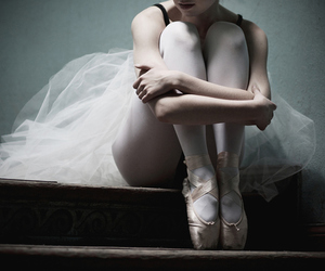 ballet, dance, and point shoes image