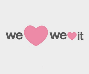 we heart it, heart, and love image