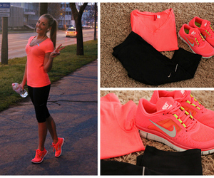 nike, sport, and neon image