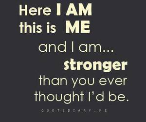 strong, quote, and me image