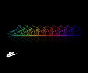 Just Do It, nike, and shoes image
