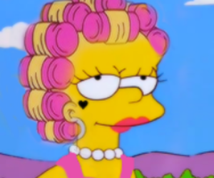 marina and the diamonds and simpsons image