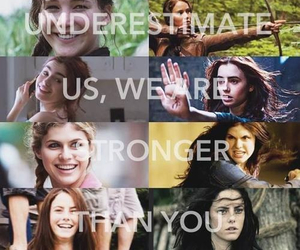 ana, Stronger, and hunger games image