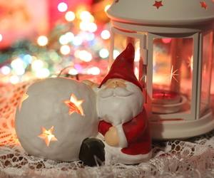 christmas, lantern, and lights image