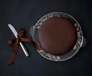 cake, chocolate, and torte image