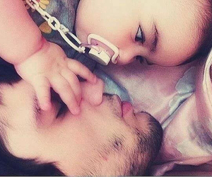 baby and daddy image
