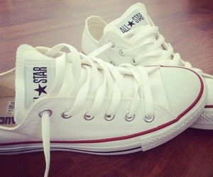 converse, white, and shoes image
