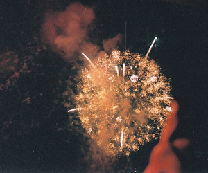 fireworks, vintage, and photography image