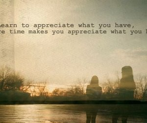 quote, time, and appreciate image