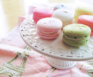 macaroons, colorful, and delicious image