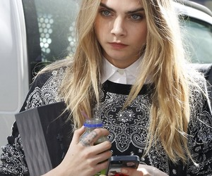 cara delevingne, model, and girl image