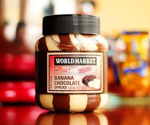 chocolate, banana, and food image