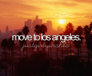 california, los angeles, and Dream image