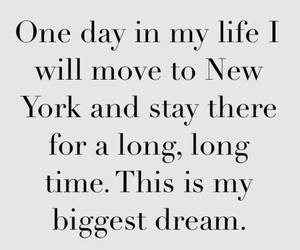 Dream, new york, and life image