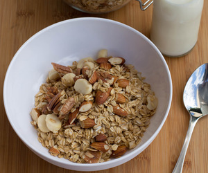 breakfast, granola, and oats image