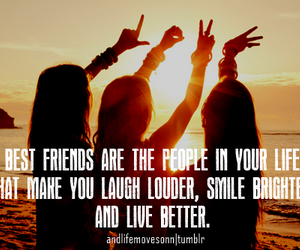 friends, best friends, and smile image