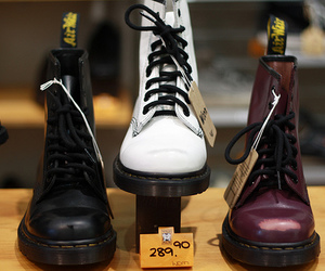 boot, color, and dr martens image