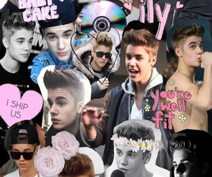Collage and justin bieber image