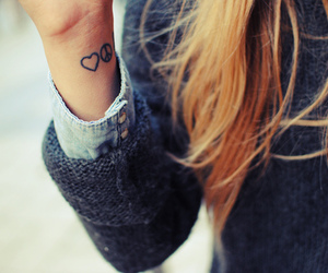 tattoo, girl, and peace image