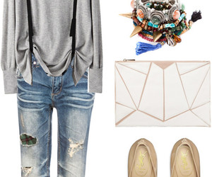 casual, Elle, and fashion image