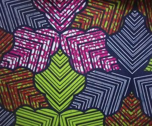 cotton fabric, ankara fabric, and african lampshades image