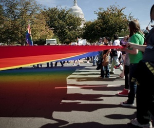 equality, gay, and march image