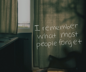 remember, forget, and quote image
