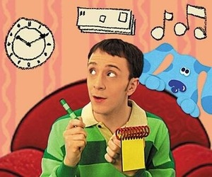 blues clues, high, and steve image