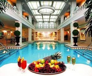 luxury, fruit, and pool image