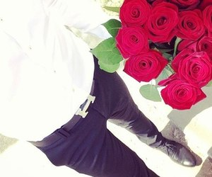 rose, flowers, and hermes image