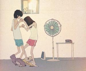 couple, boy, and dance image
