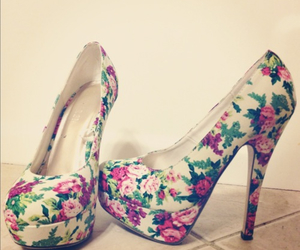 flower, nice, and shoes image