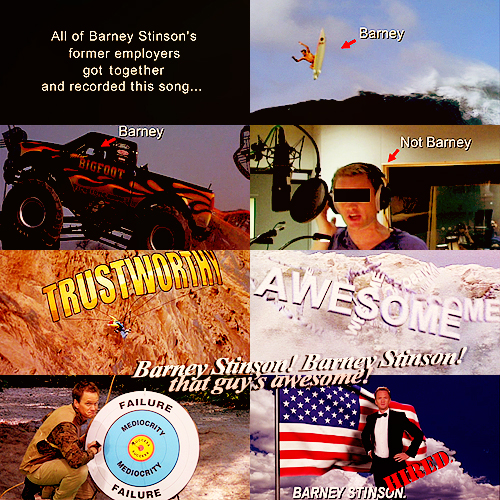 Superior We Heart It Intended Barney Stinson Resume Video
