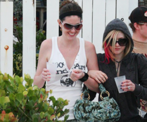 2008, beach, and Avril Lavigne image