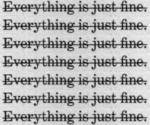 everything is just fine. image