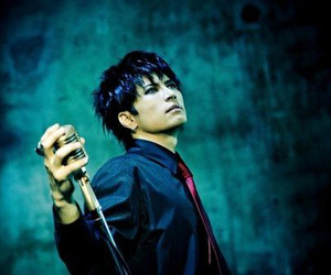 jrock, black hair, and gackt image