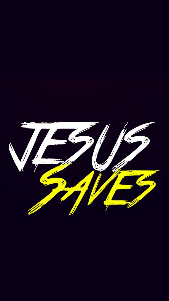 Jesus Saves Discovered By A Beautiful Aftermath