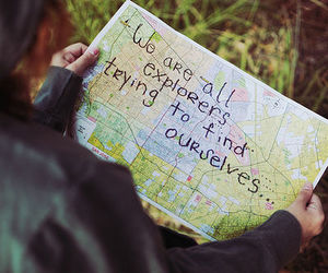 quotes, map, and explorer image