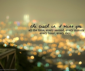 quote, miss you, and text image