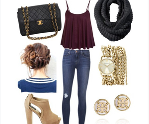 casual, clothes, and style image