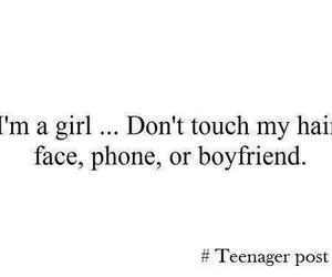 girl, boyfriend, and phone image