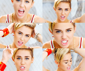 miley cyrus, 23, and miley image