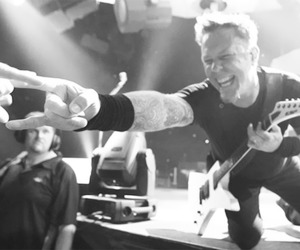 James Hetfield and metallia image